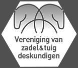 Vereniging van zadel en tuig deskundigen logo